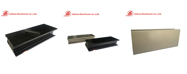Perfiles de electroforesis de aluminio