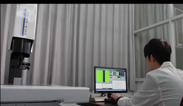 Perfiles de aluminio de tamaño completo equipo de medición automática